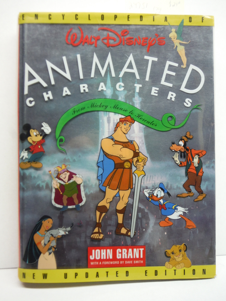 Image 0 of Encyclopedia of Walt Disney's Animated Characters: From Mickey Mouse to Hercules