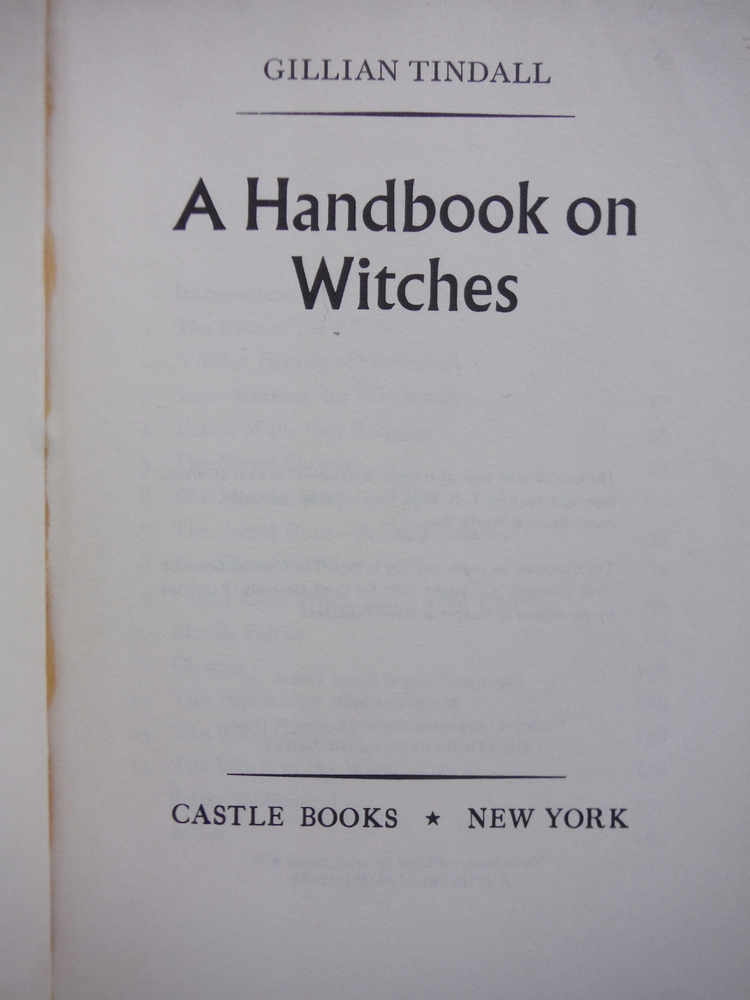 Image 1 of Handbook on Witches
