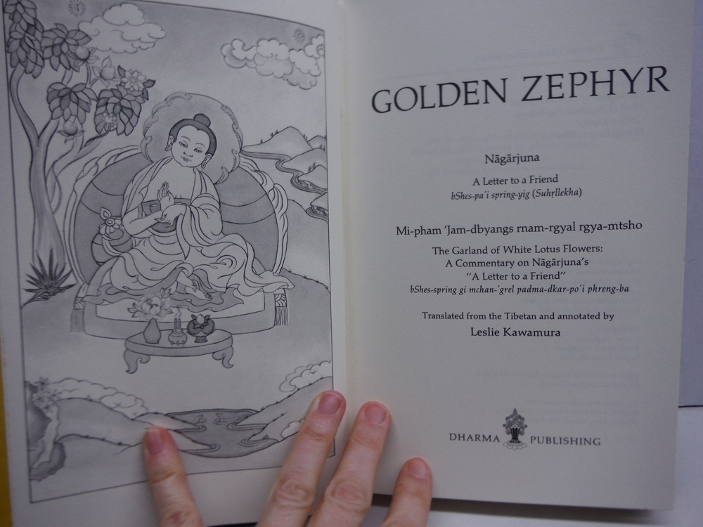 Image 1 of Golden zephyr (Tibetan translation series)