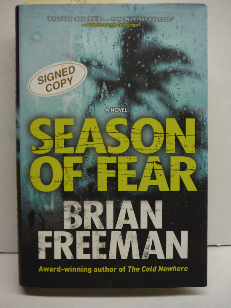 Image 0 of Season of Fear (A Cab Bolton Thriller)