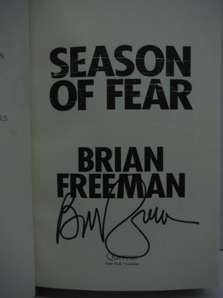 Image 1 of Season of Fear (A Cab Bolton Thriller)