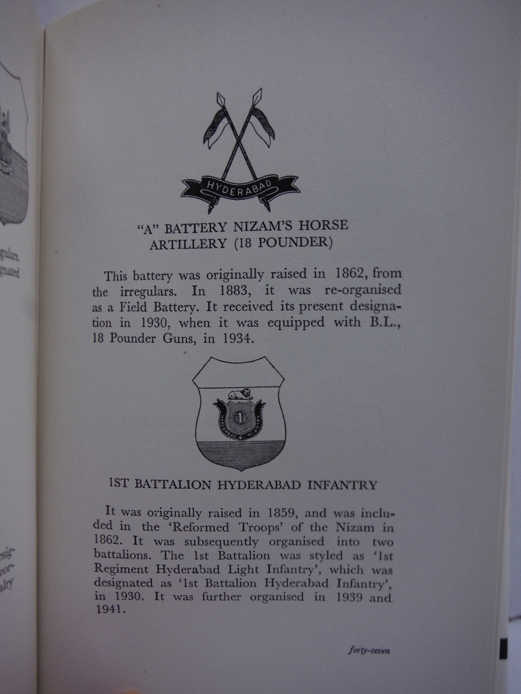 Image 1 of A History of the Indian State Forces: Their Lineage and Insignia