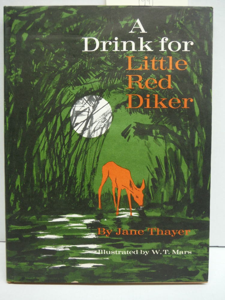 A drink for little red Diker,