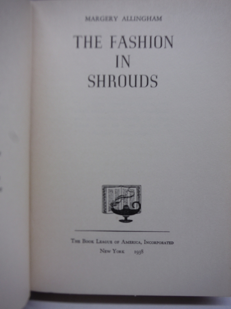 Image 1 of The Fashion in Shrouds