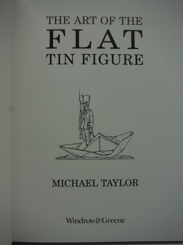 Image 1 of Art of the Flat Tin Figure (Modelling Masterclass)