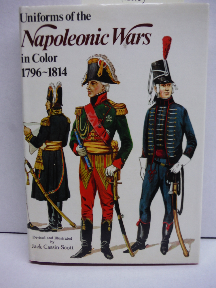 Image 0 of Uniforms of the Napoleonic wars in color, 1796-1814,