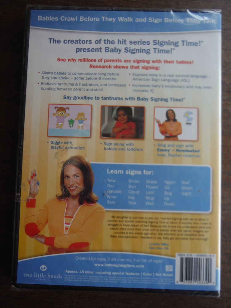 Image 1 of Baby Signing Time 3 by Signing Time