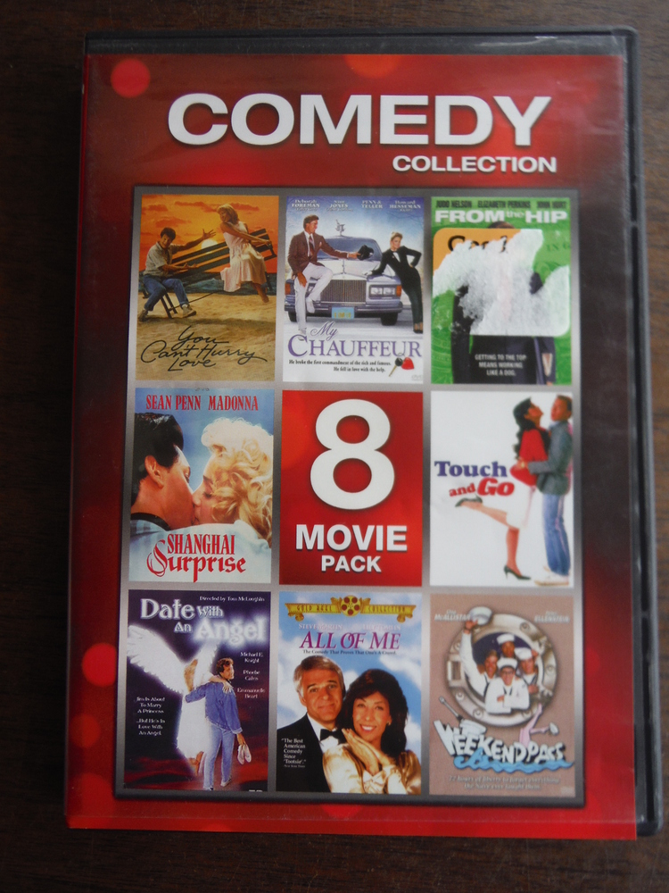 Image 0 of 80s Comedy Collection (You Can't Hurry Love / My Chauffeur / From The Hip / Shan
