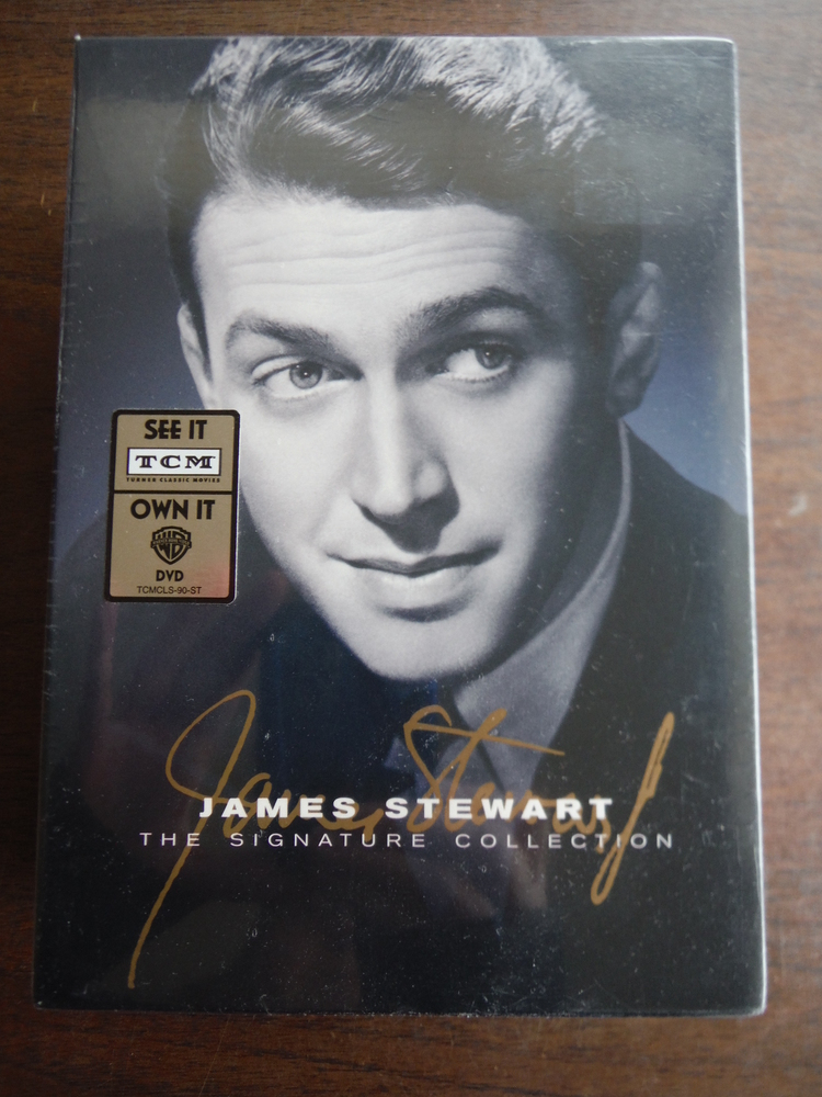 Image 0 of James Stewart: Signature Collection (The Spirit of St. Louis / The FBI Story / T