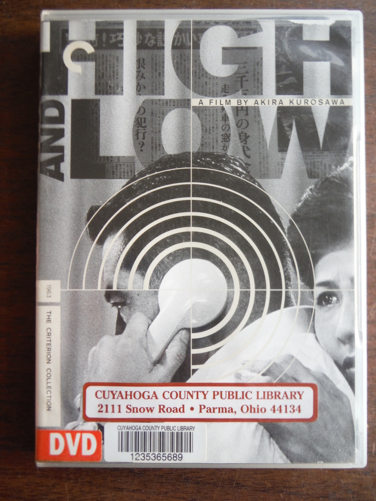 Image 0 of High and Low (The Criterion Collection)