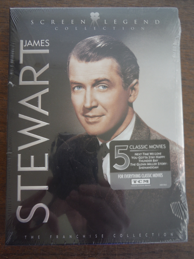 James Stewart: Screen Legend Collection (Shenandoah / The Glenn Miller Story / T
