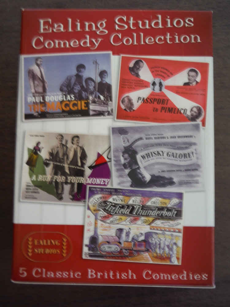 Ealing Studios Comedy Collection (The Maggie / A Run for Your Money / Titfield T
