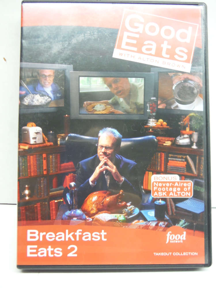 Image 0 of Food Network Takeout Collection DVD - Good Eats With Alton Brown - Breakfast Eat