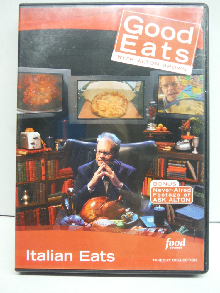 Food Network Takeout Collection DVD - Good Eats With Alton Brown - Italian Eats