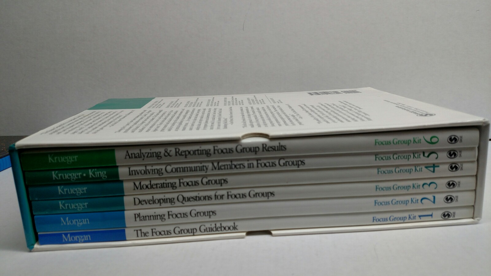 Image 1 of The Focus Group Kit: Volumes 1-6