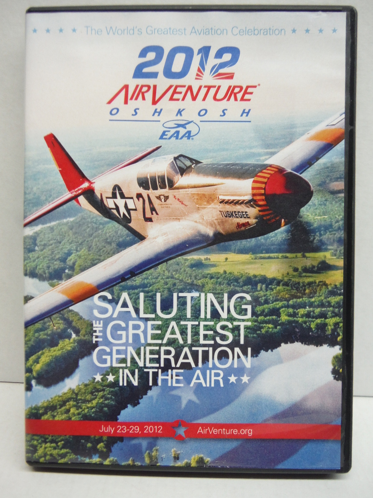 2012 Airventure Oshkosh EAA DVD