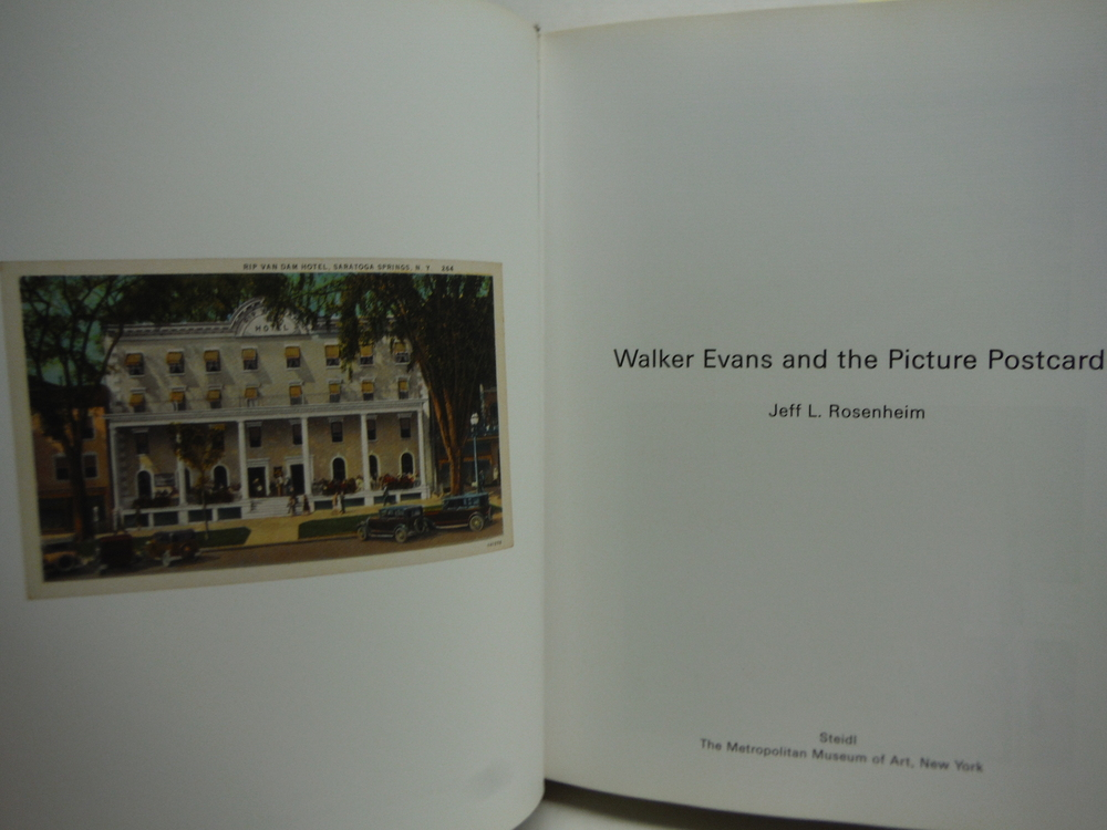 Image 1 of Walker Evans and the Picture Postcard