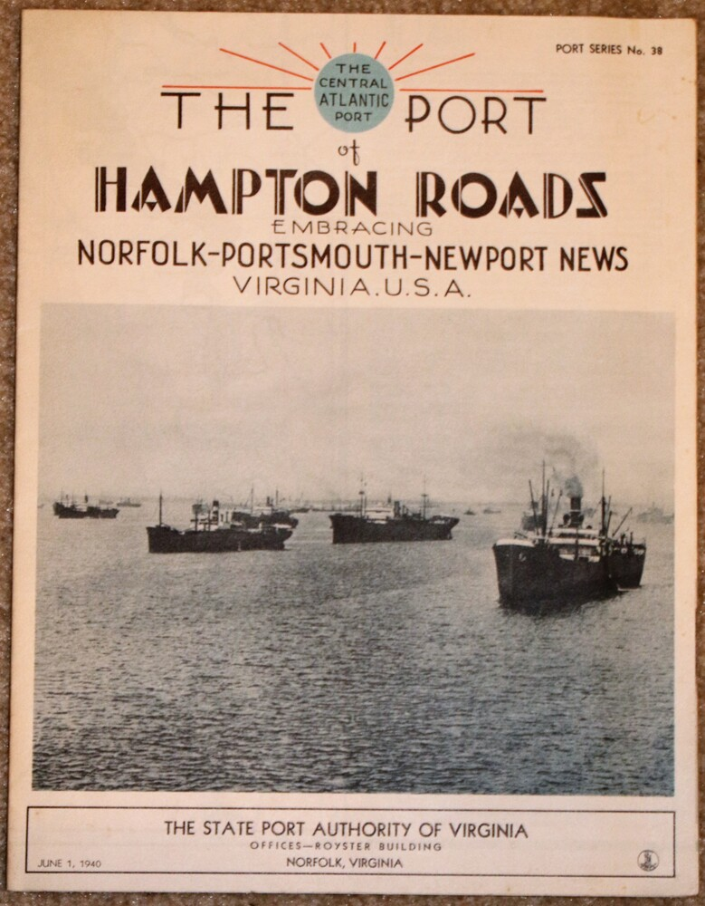 Image 0 of The Port of Hampton Roads embracing Norfolk-Portsmouth-Newport News Virginia, US