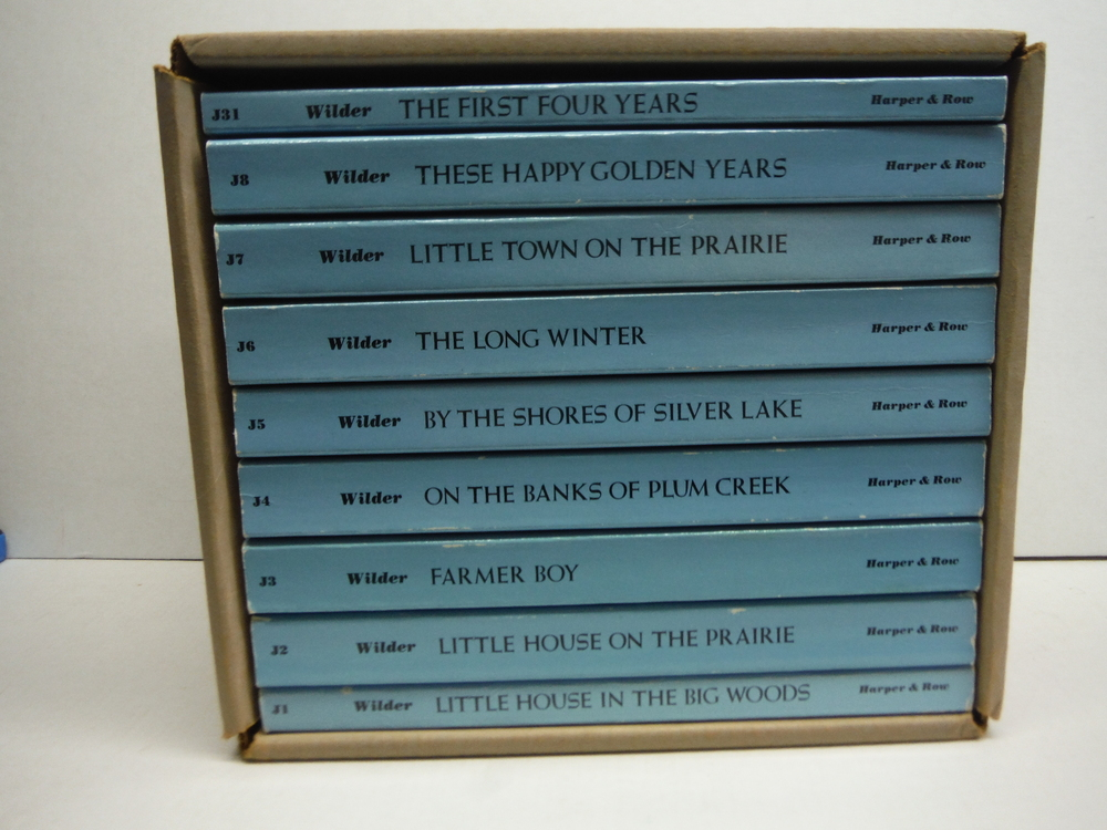Complete Set of Laura Ingalls Wilder's Little House Books