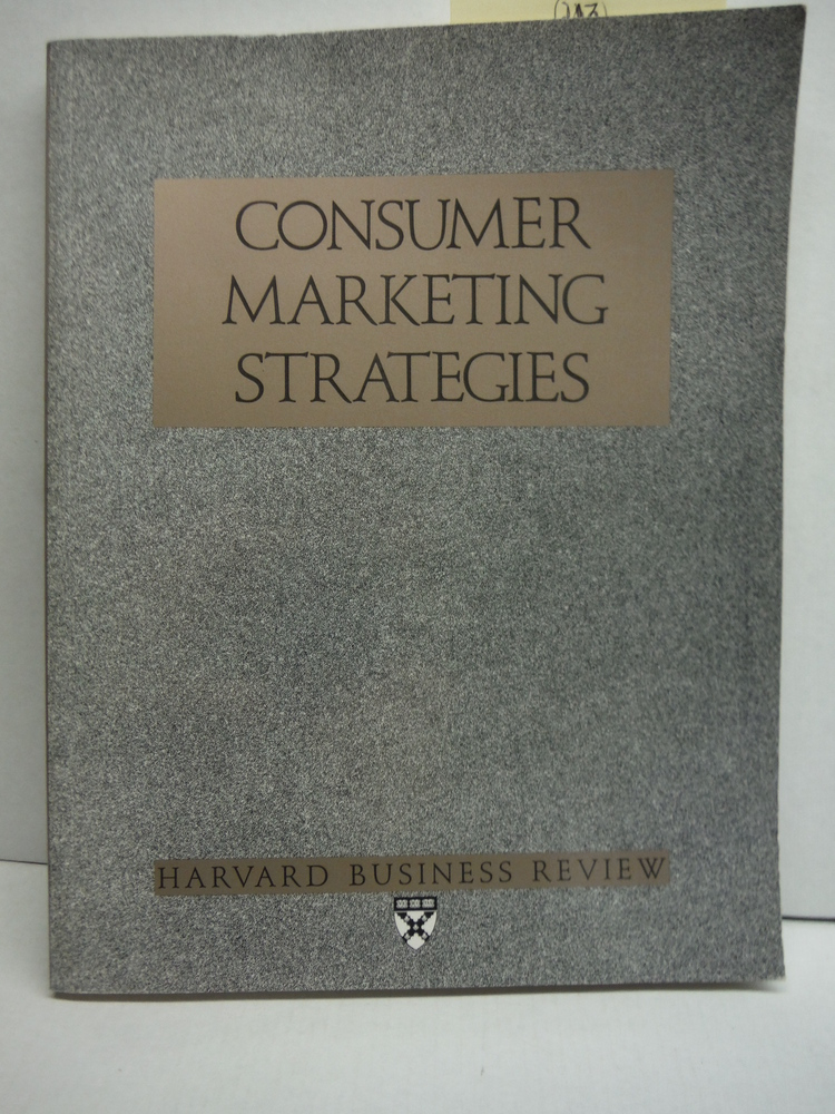 Image 0 of Consumer Marketing Strategies (Marketing in Action)