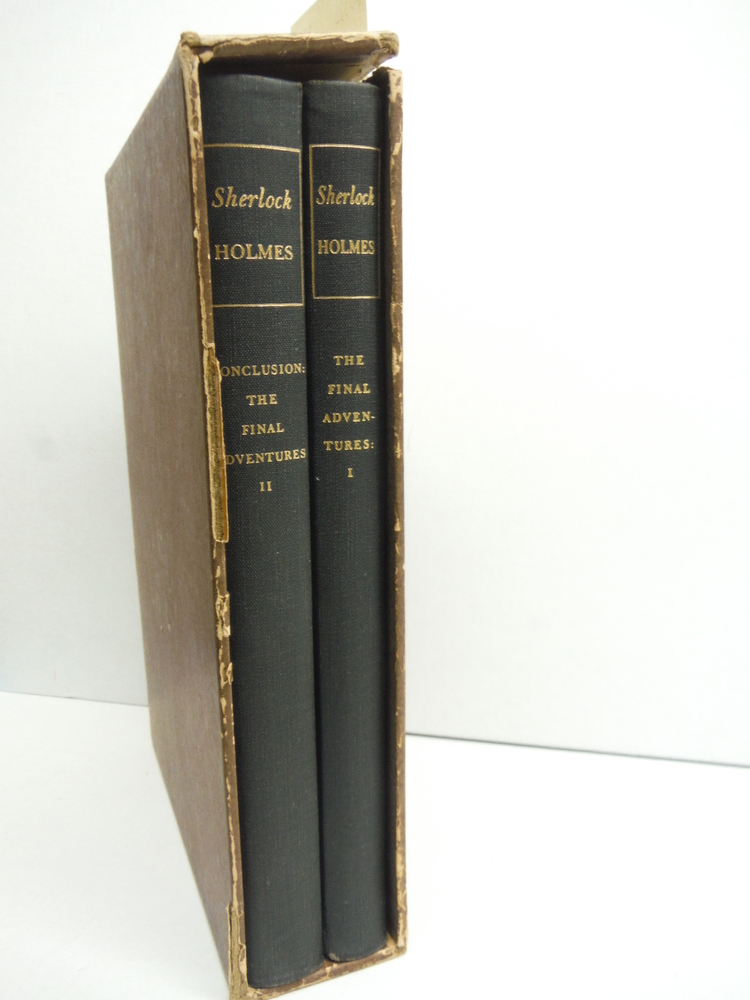 Image 0 of The Final Adventures of Sherlock Holmes, A Definitive Text (in two volumes)