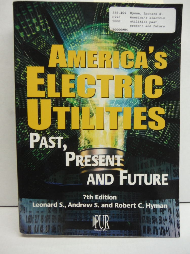 Image 0 of America's Electric Utilities: Past, Present, and Future