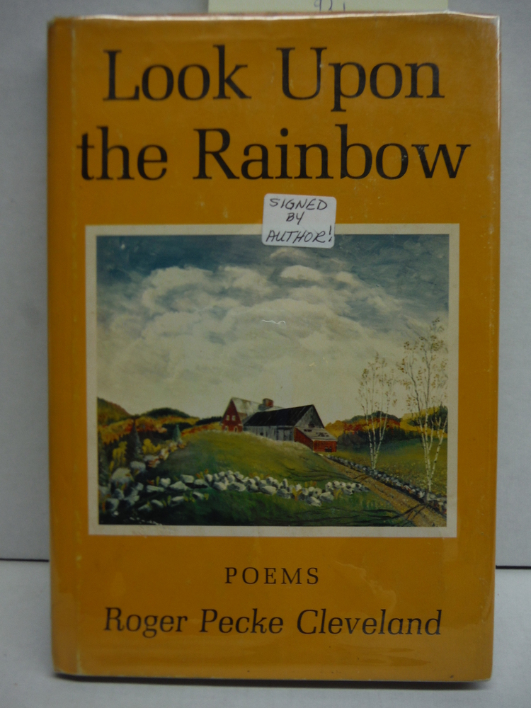 Image 0 of Look upon the Rainbow:  poems.