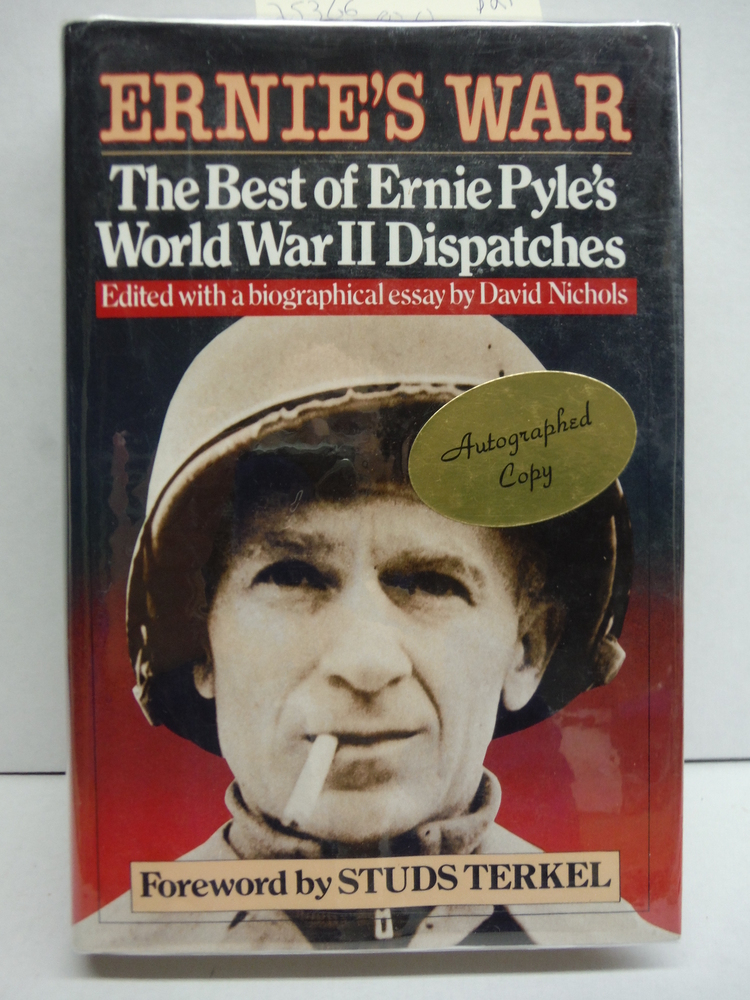Image 0 of Ernie's War: The Best of Ernie Pyle's World War II Dispatches