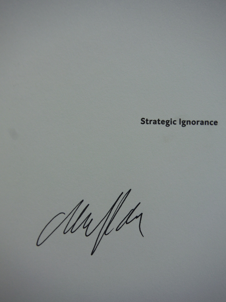 Image 1 of Strategic Ignorance: Why the Bush Administration Is Recklessly Destroying a Cent