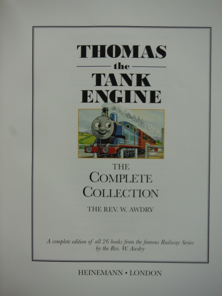 Image 1 of Thomas the Tank Engine. The complete collection