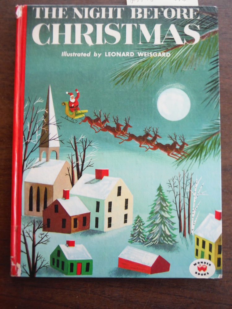 Image 0 of The Night Before Christmas Illustrated by Leonard Weisgard