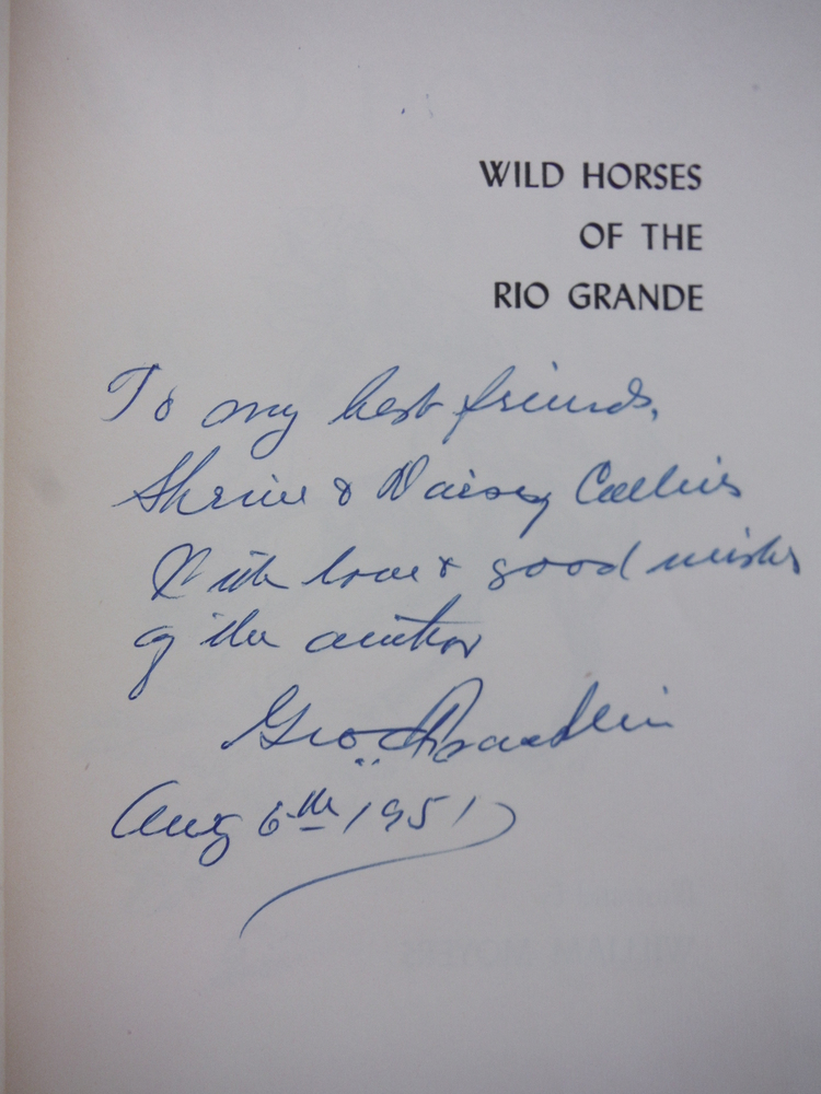 Image 1 of Wild horses of the Rio Grande;