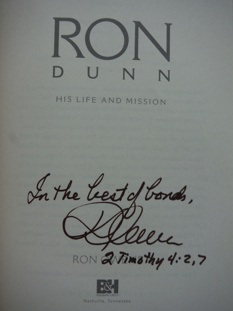 Image 1 of Ron Dunn: His Life and Mission
