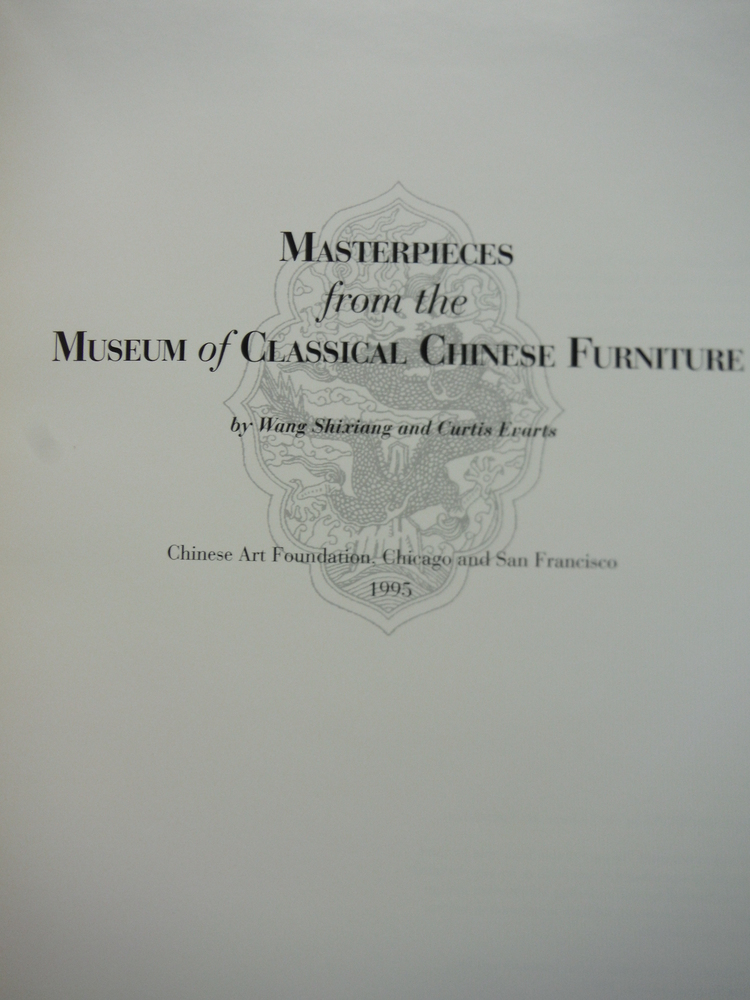 Image 2 of Mastepieces from the Museum of Classical Chinese Furniture