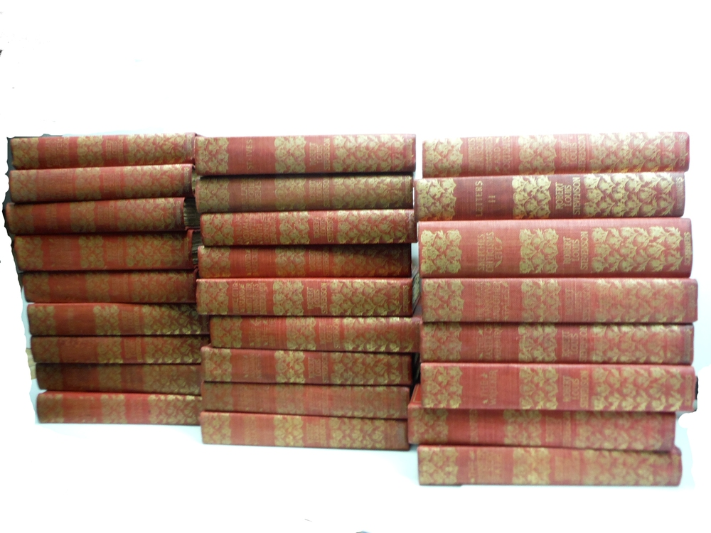 Image 0 of The Complete Works of Robert Lewis Stevenson – Thistle Edition (26 Vols.) (189