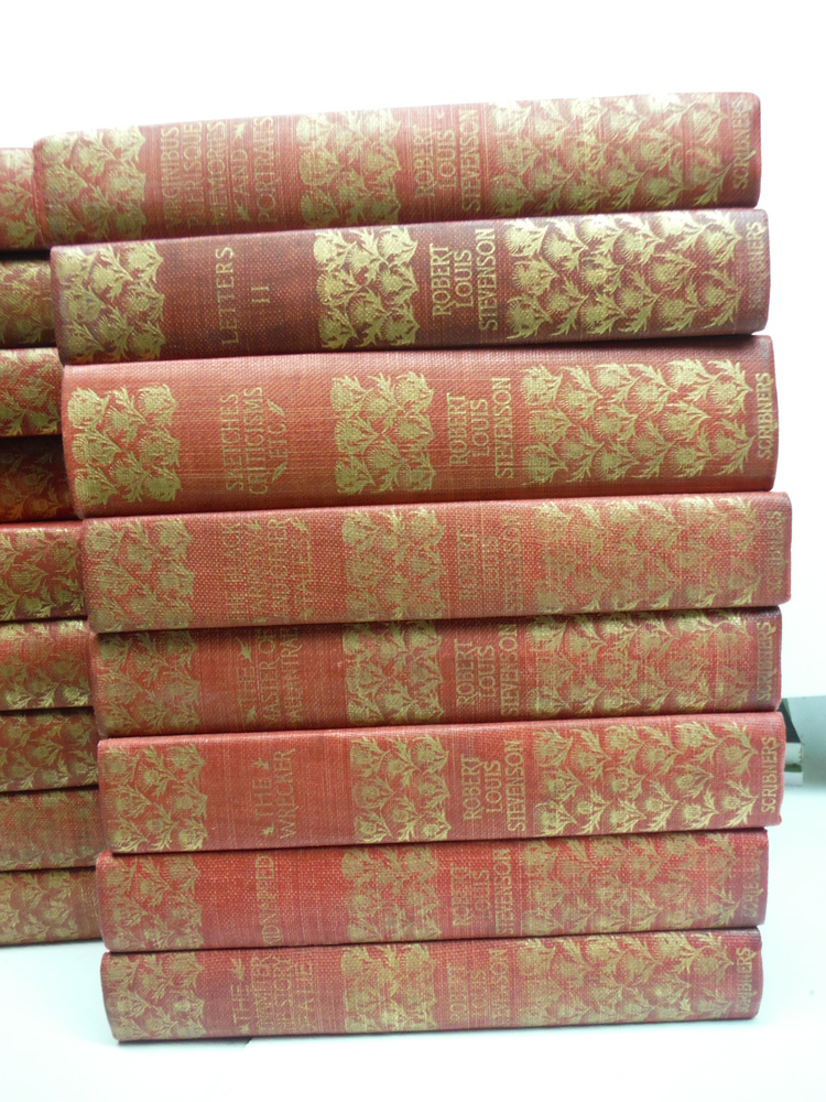 Image 1 of The Complete Works of Robert Lewis Stevenson – Thistle Edition (26 Vols.) (189