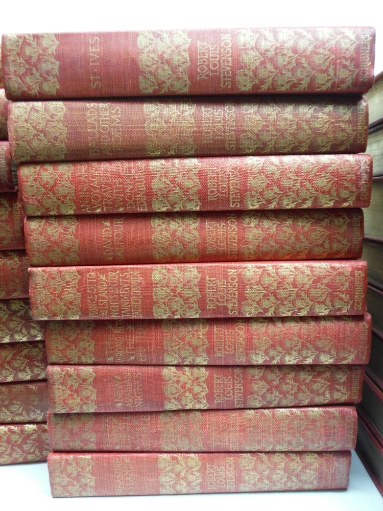 Image 2 of The Complete Works of Robert Lewis Stevenson – Thistle Edition (26 Vols.) (189