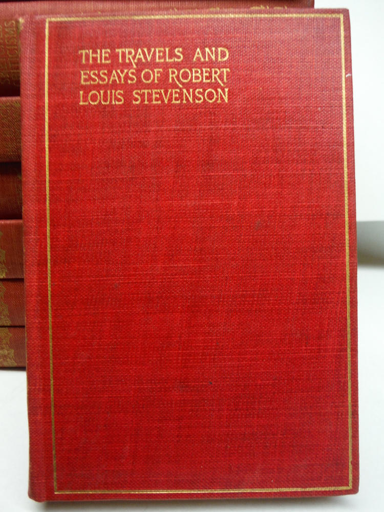 Image 3 of The Complete Works of Robert Lewis Stevenson – Thistle Edition (26 Vols.) (189