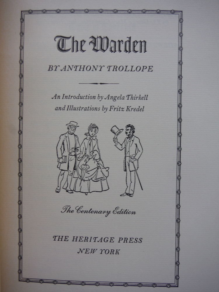 Image 1 of The Warden (with Slipcase)
