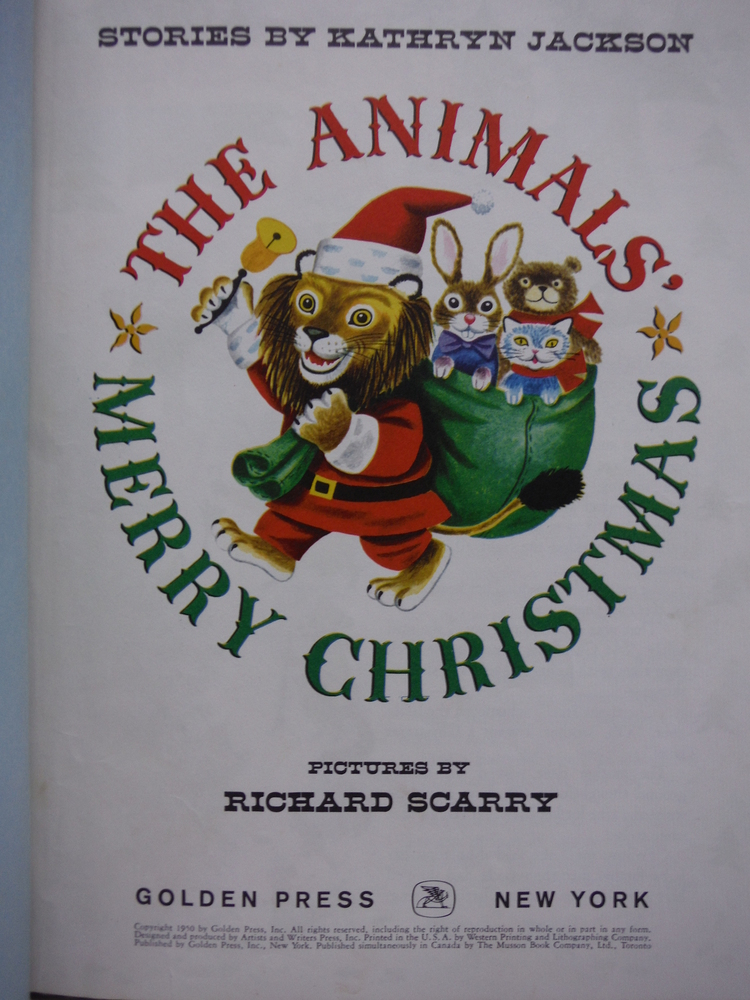 Image 1 of Animals Merry Christmas