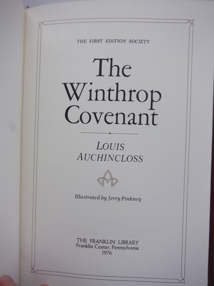 Image 1 of The Winthrop Covenant