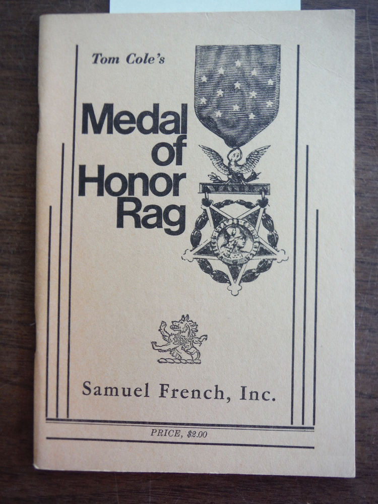 Image 0 of Medal of Honor Rag: A Full Length Play in One Act