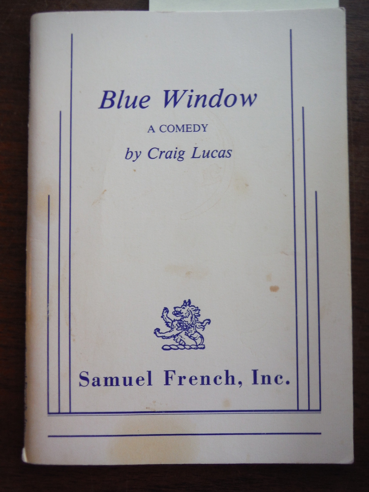 Blue Window  A Comedy