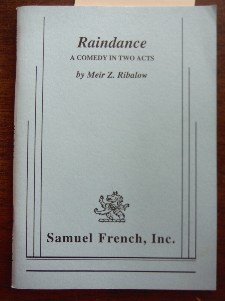 Image 0 of Raindance: A comedy in two acts