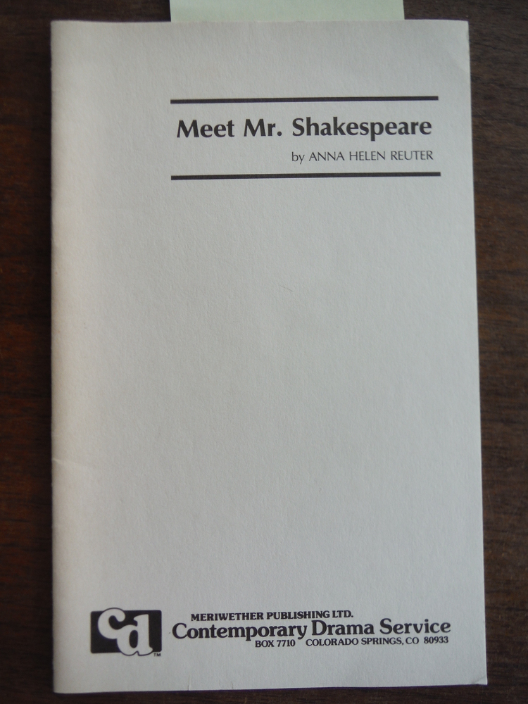 Image 0 of Meet Mr. Shakespeare (X-P533)