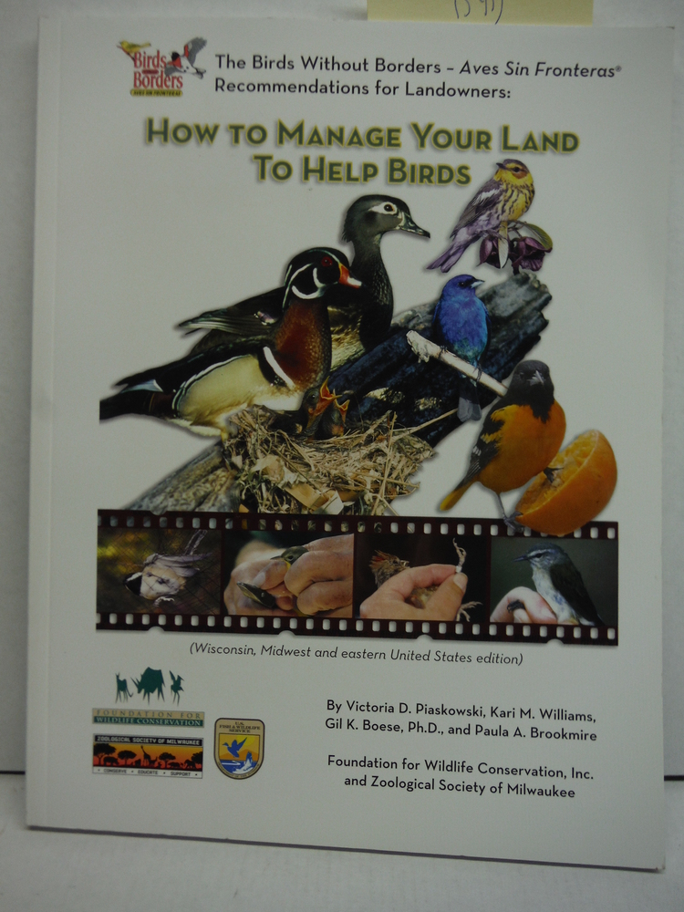 Image 0 of How to Manage Your Land to Help Birds (Birds without Borders)