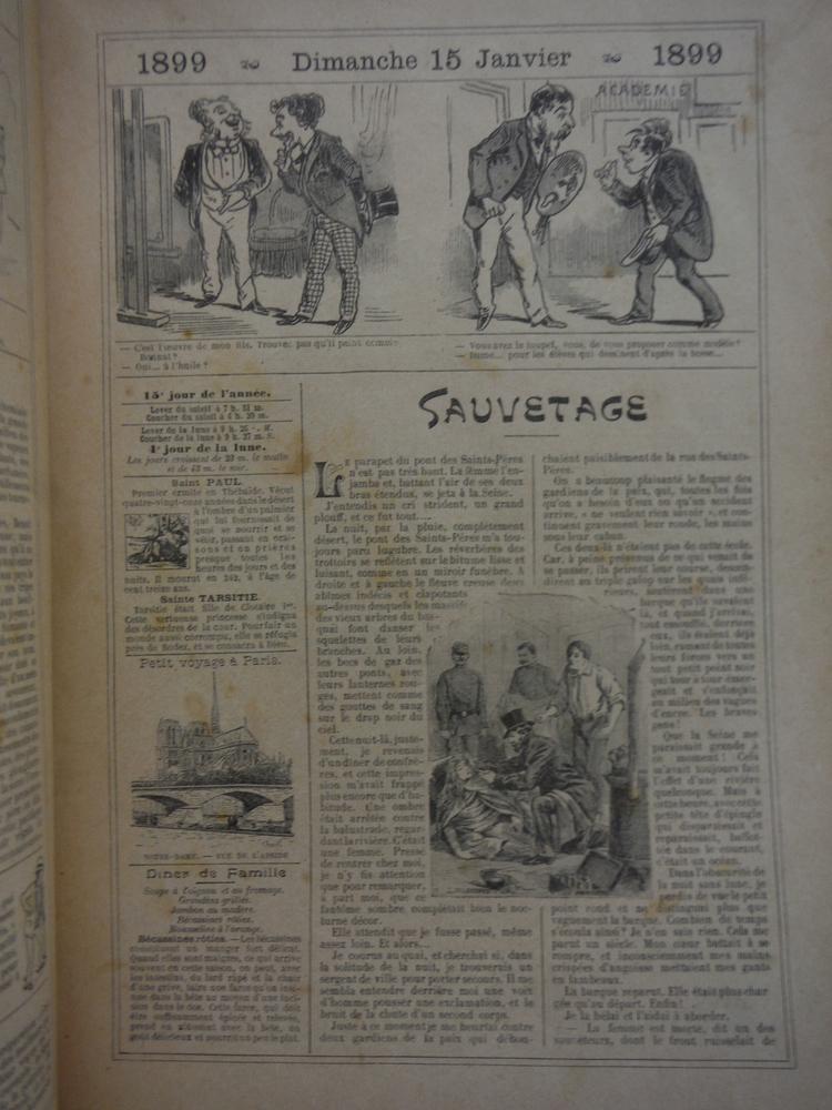 Image 1 of Almanach Vermot 1899