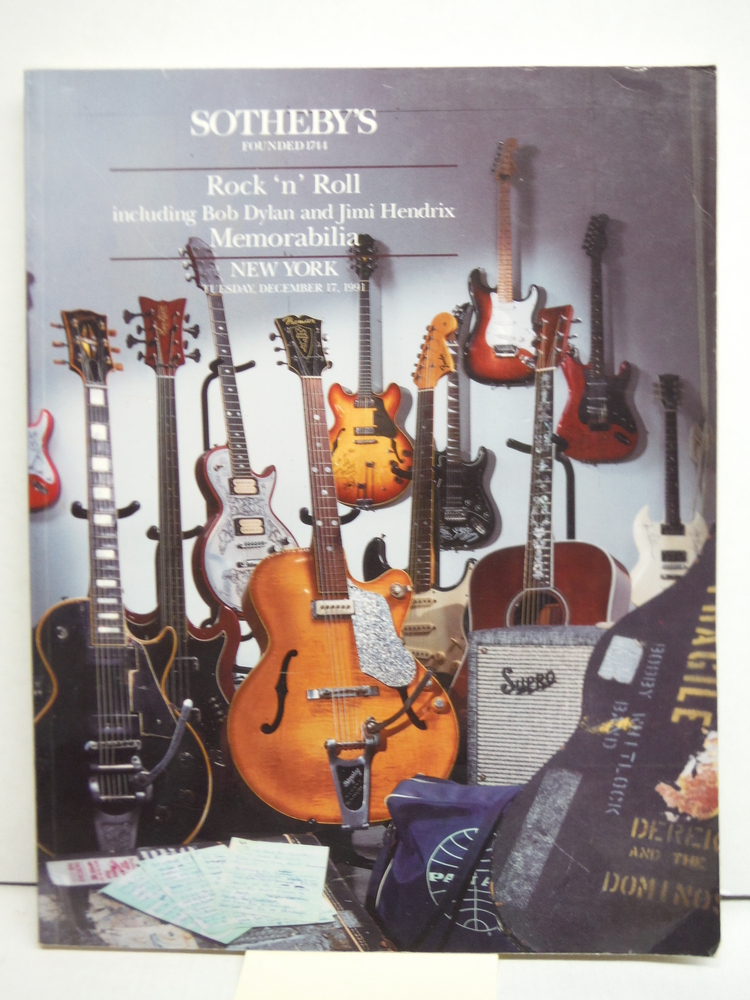 Image 0 of Sotheby's Animation Art New York Saturday, December 14, 1991;  Rock 'n Roll inck