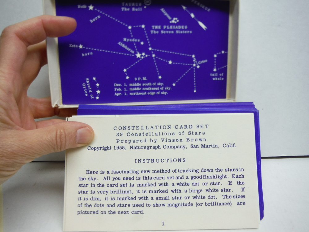 Image 1 of Constellation Card Set
