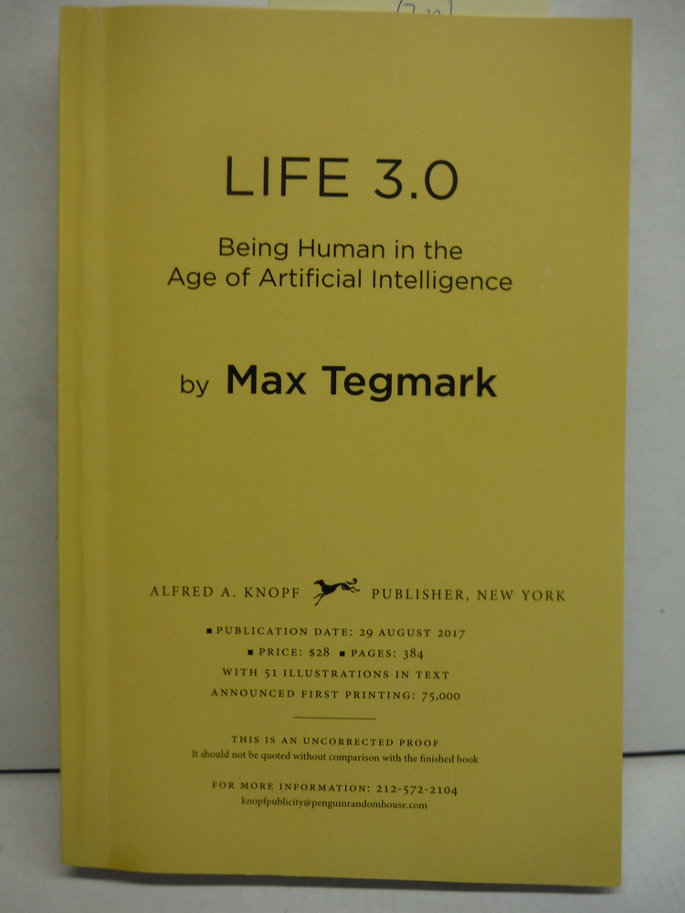 Image 0 of Life 3.0: Being Human in the Age of Artificial Intelligence